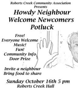 newcomers-potluck-poster